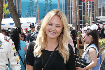 Malin Akerman 37th Annual Toyota Pro/Celebrity Race - Day 2