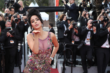 Mallika Sherawat 'The Beguiled' Red Carpet Arrivals - The 70th Annual Cannes Film Festival