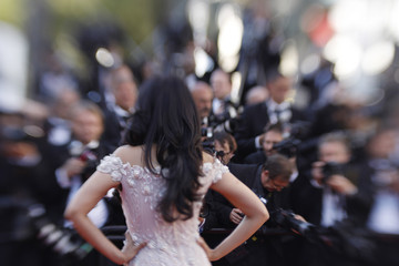 Mallika Sherawat 'Ismael's Ghosts (Les Fantomes d'Ismael)' and Opening Gala Red Carpet Arrivals - The 70th Annual Cannes Film Festival