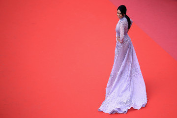 Mallika Sherawat 'Sorry Angel (Plaire, Aimer Et Courir Vite)' Red Carpet Arrivals - The 71st Annual Cannes Film Festival