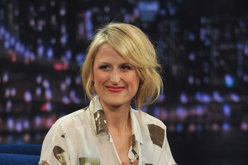 "Mamie Gummer Mamie Gummer Visits ""Late Night With Jimmy Fallon"""