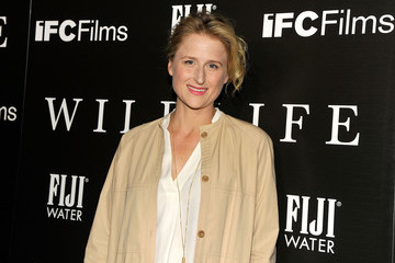 Mamie Gummer FIJI Water At The 'Wildlife' Los Angeles Premiere