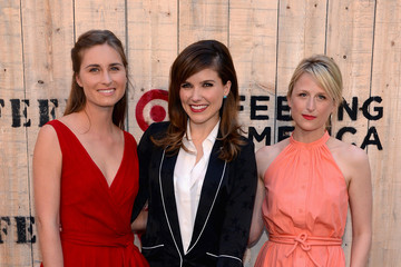 Mamie Gummer Arrivals at the FEED USA + Target Launch Event