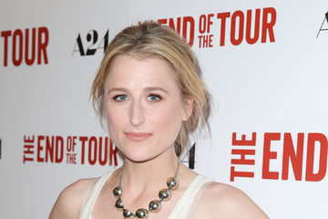 Mamie Gummer Premiere of A24's 'The End of the Tour' - Red Carpet