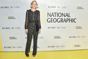 "Mamie Gummer National Geographic Channel ""Before the Flood"" Screening"