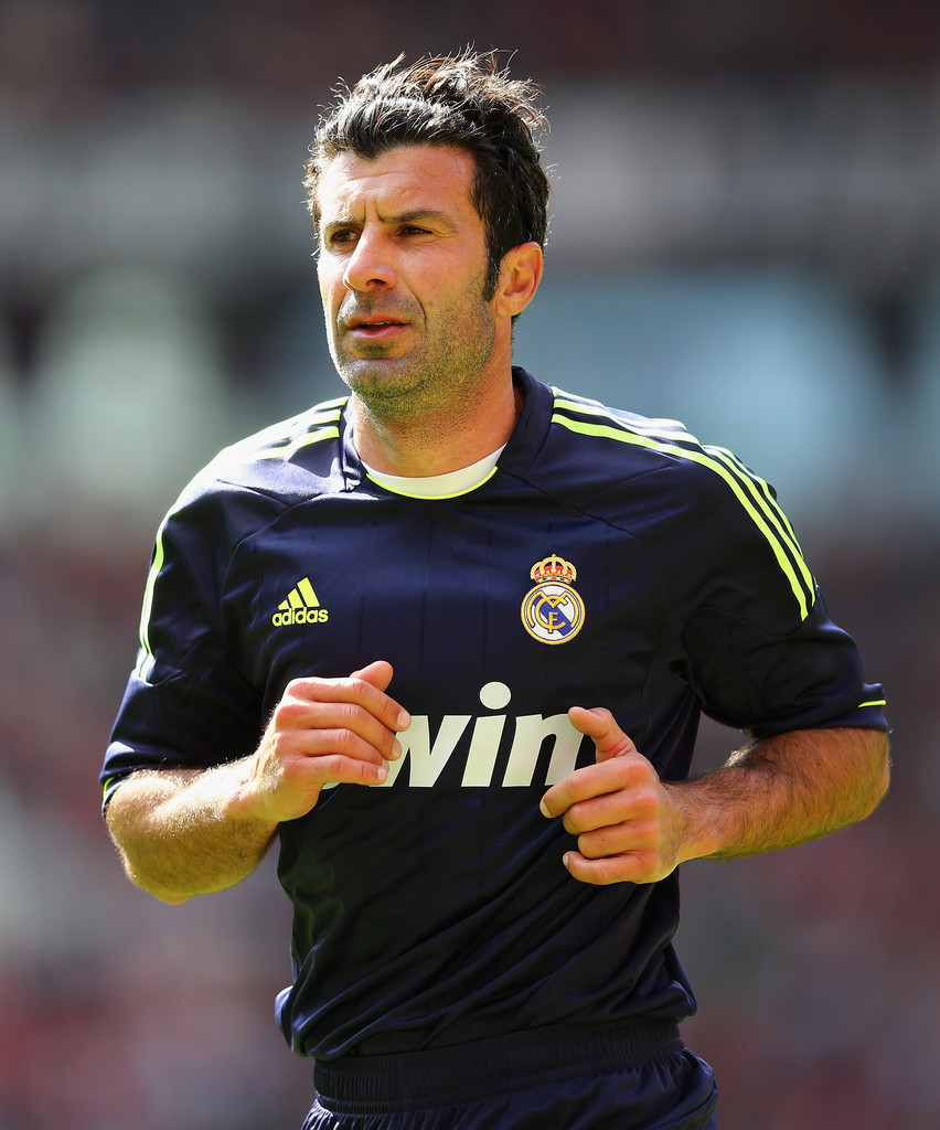 Luis Figo - Luis Figo Photos - Manchester United Legends v Real Madrid Legends - Zimbio
