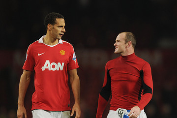 Rio Ferdinand Manchester United v Wigan Athletic - Premier League