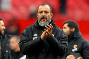 Nuno Espirito Santo, Manager of Wolverhampton Wanderers applauds fans after the Premier League match between Manchester United and Wolverhampton Wanderers at Old Trafford on September 22, 2018 in Manchester, United Kingdom.