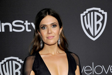 Mandy Moore The 2017 InStyle and Warner Bros. 73rd Annual Golden Globe Awards Post-Party - Red Carpet