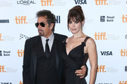 """Actors Al Pacino and Lucila Sola attend the """"Manglehorn"""" Premiere during the 2014 Toronto International Film Festival at Winter Garden Theatre on September 6, 2014 in Toronto, Canada."""