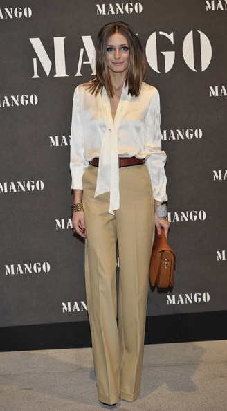 Olivia Palermo attends Mango new collection at the Palacio de Cibeles on November 16, 2010 in Madrid, Spain.