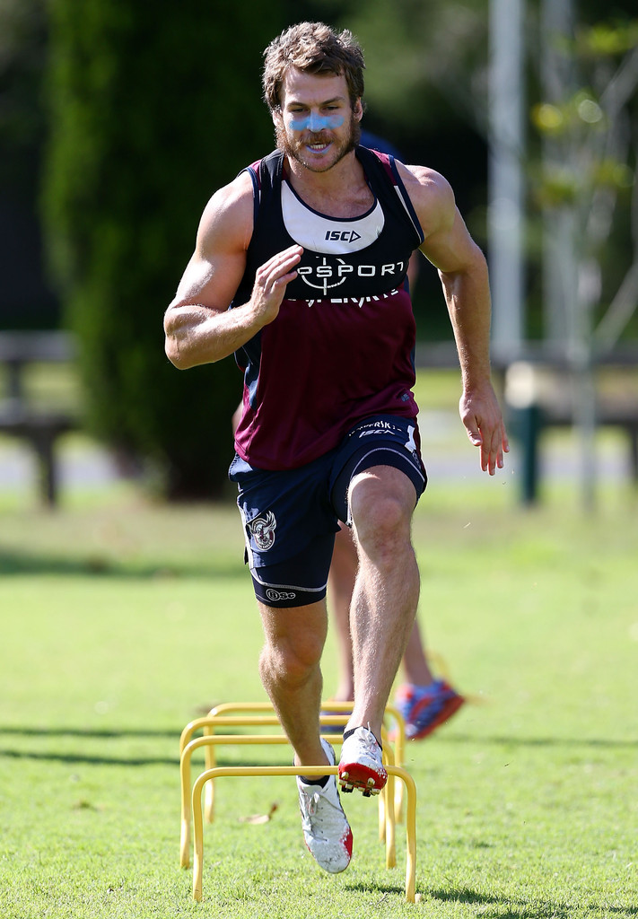 David Williams in Manly Sea Eagles Training Session - Zimbio