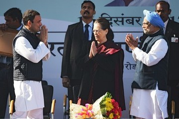 Manmohan Singh Rahul Gandhi Extends Family Grip on India's Congress Party