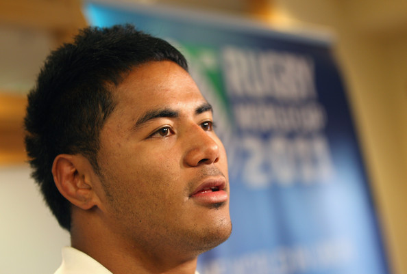 Manu Tuilagi Manu Tuilagi looks on during an England IRB Rugby World Cup