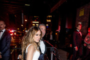 """Andy Cohen and Sarah Jessica Parker attend the after Party at the Standard Hotel following """"Manus x Machina: Fashion In An Age Of Technology"""" Costume Institute Gala on May 2, 2016 in New York City."""