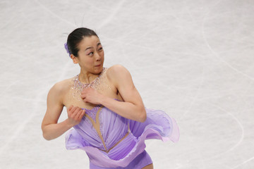 Mao Asada ISU World Figure Skating Championships: Day 2