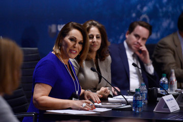 María Elena Salinas Concordia The Americas Convenes World Leaders To Tackle Challenges In The Region Through Public-Private Partnerships - May 13