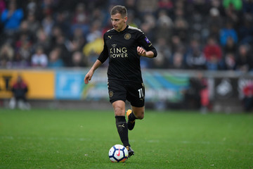 Marc Albrighton Swansea City v Leicester City - Premier League