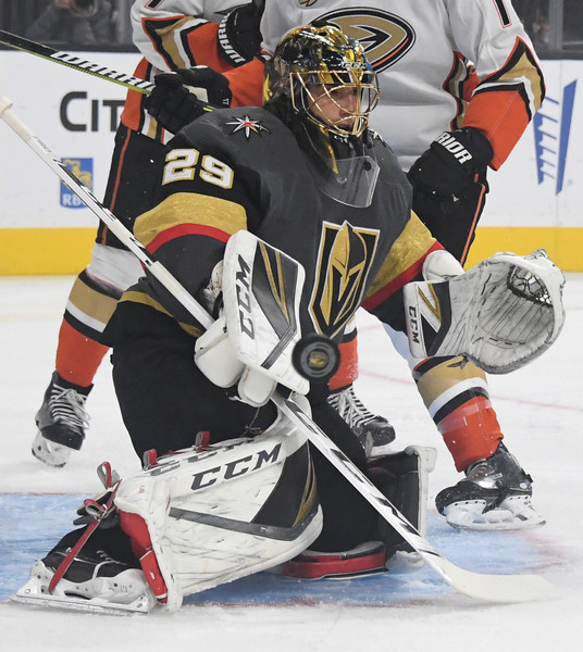 Anaheim Ducks v Vegas Golden Knights