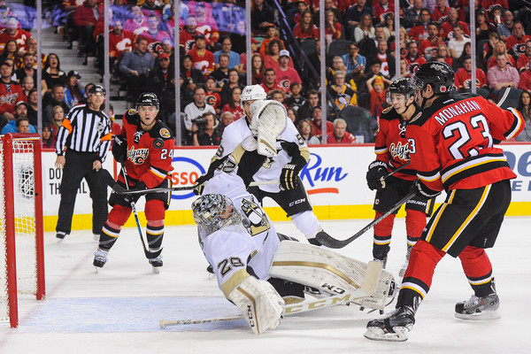 Pittsburgh Penguins v Calgary Flames