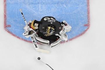 Marc-Andre Fleury Shea Theodore 2018 NHL Stanley Cup Final - Game One