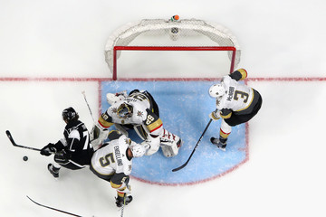 Marc-Andre Fleury Vegas Golden Knights v Los Angeles Kings - Game Three
