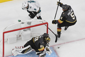 Marc-Andre Fleury San Jose Sharks v Vegas Golden Knights - Game Six