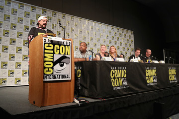 Marc Bernardin Col Needham, Founder & CEO Of IMDb, Judges the ComiXology Movie Trivia Panel Hosted by Kevin Smith at San Diego Comic-Con 2017