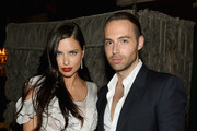Adriana Lima and Michael Ariano attend Marc Jacobs And Coty Celebrate DECADENCE on June 18, 2015 in New York City.