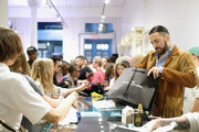 Marc Jacobs works the register during THE Marc Jacobs SoHo Block Party at The Marc Jacobs SoHo Store on June 12, 2019 in New York City.