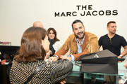 Designer Marc Jacobs works the counter at THE Marc Jacobs SoHo Block Party at The Marc Jacobs SoHo Store on June 12, 2019 in New York City.