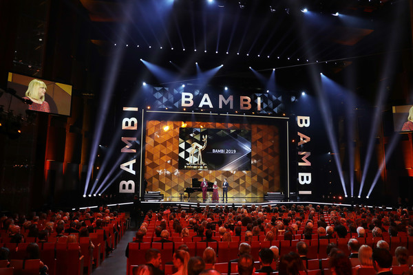 Show - Bambi Awards 2019 [stage,entertainment,performance,audience,auditorium,event,concert,performing arts,rock concert,crowd,marc marshall,patrizia riekel,philipp welte,bambi awards,stage,festspielhaus baden-baden,germany,show]