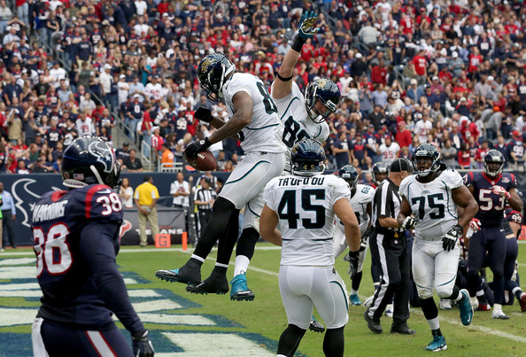 Marcedes Lewis In Jacksonville Jaguars V Houston Texans: Jacksonville Jaguars V Houston
