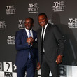 Marcel Desailly The Best FIFA Football Awards - Green Carpet Arrivals