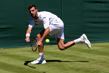 Marcel Granollers Day Two: The Championships - Wimbledon 2015