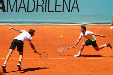 Marcel Granollers Marc Lopez Mutua Madrid Open - Day Eight