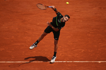 Marcel Granollers 2015 French Open - Day Four