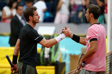 Marcel Granollers Mutua Madrid Open - Day Six