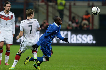Marcell Jansen Italy v Germany - International Friendly