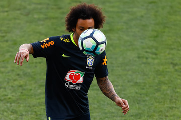 Marcelo Brazil Training Session - 2018 FIFA World Cup Russia Qualifier
