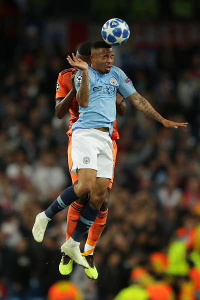 Manchester City v Olympique Lyonnais - UEFA Champions League Group F [player,football player,soccer player,football,championship,sports equipment,team sport,sports,ball game,soccer,marcelo,v,possession,lyon,manchester city,olympique lyonnais,uefa champions league group f,group f,battles,match]