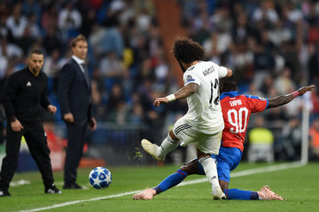 Marcelo Real Madrid vs. Viktoria Plzen - UEFA Champions League Group G