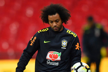 Marcelo Brazil Training and Press Conference