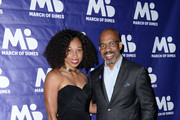 Allyson Felix and Kevin McDowell attend March of Dimes Get S.E.T. Los Angeles at The Novo Theater at L.A. Live on June 27, 2019 in Los Angeles, California.