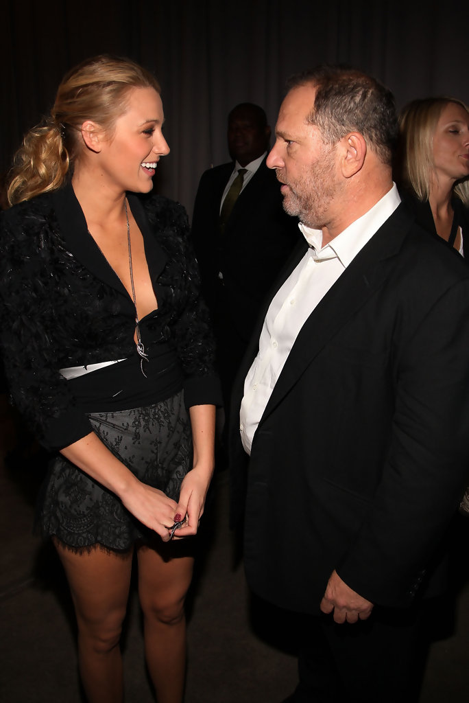 Blake lively harvey weinstein