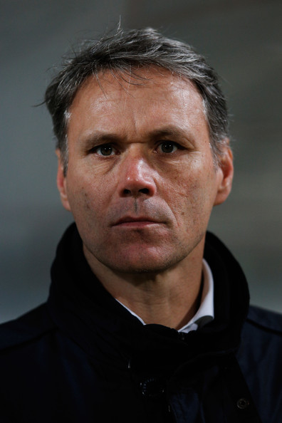... Coach Maurice Steijn during the Eredivisie match between ADO Den Haag