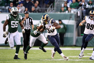 Marcus Gilchrist Los Angeles Rams v New York Jets