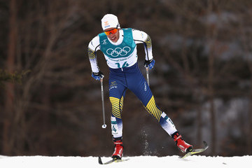 Marcus Hellner Cross-Country Skiing - Winter Olympics Day 2