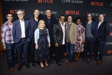 Marcus Hinchey Special Screening of the Netflix Film 'Come Sunday' at the Directors Guild of America Theater in Los Angeles