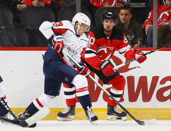 Marcus Johansson Photos Photos - Washington Capitals v New Jersey ... 8706943c2